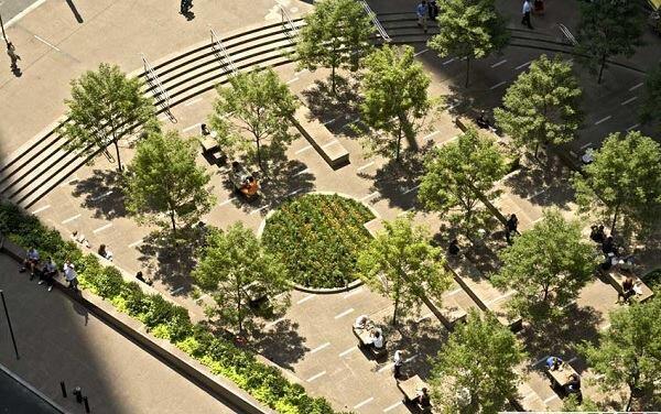 Zuccotti Park in New York City