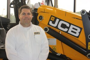 Tim Witter, Vice President of Manufacturing at JCB North America