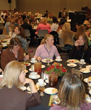 The Women in Concrete Luncheon and Forum brings together women from all aspects  of the concrete construction industry.