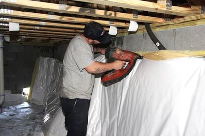 Conditioning Crawlspaces