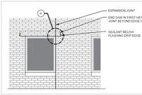 Expansion Joints for Windows
