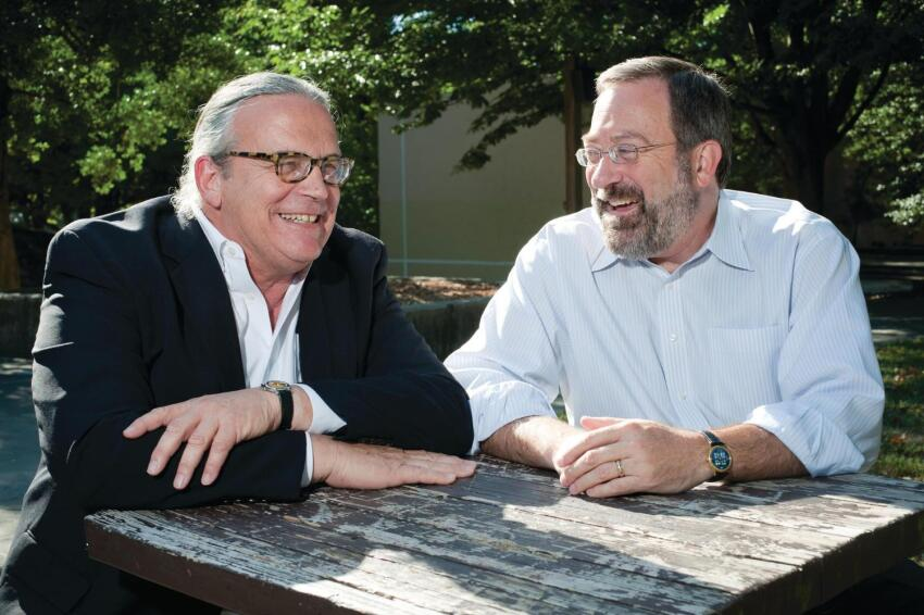 Architects John Torti and Tom Gallas of Torti Gallas and Partners