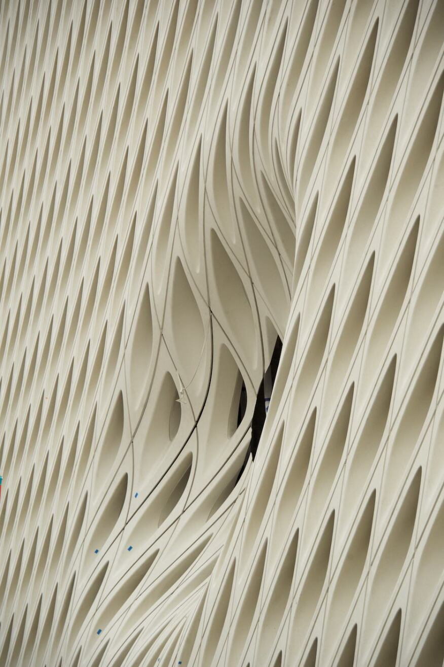 "An indentation in the veil has been named ""The Oculus"" by the architects."