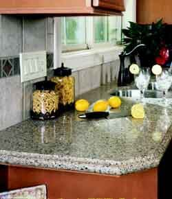 BACTERIA FIGHTER: Silestone is the only quartz surfacing that comes with built-in Microban antimicrobial protection, the manufacturer says. The material provides a deterrent to the growth of bacteria on countertops. The surfacing is still virtually maintenance free, highly scratch, stain, and scorch resistant, and nonporous. Silestone is available in 51 colors, but Microban will be available only in selected colors. Cosentino USA. 281-494-7277. www.silestoneusa.com.