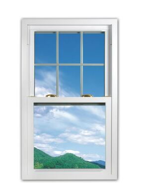 Accu-Weld. The Haddon Signature series comprises three Energy Starlabeled and NFRC-rated window lines offering good-better-best performance. Accu-Vision windows feature a 15-chamber, foam-filled, beveled vinyl frame and come with Solarban60 insulating glass for an R-value of 3.33 and a U-factor of 0.30. Accu-Safe offers the same features, but with tempered and laminated double-strength glass for added security and sound reduction, as well as improved R-value (3.44) and U-factor (0.29). Finally, Eco-Green builds on Accu-Vision with triple-pane glass to reach an R-value of 5 and a U-factor of 0.20. 800.782.6347.  www.accuweld.com.