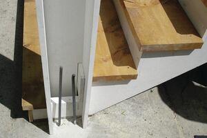 Concrete-Filled PVC Posts