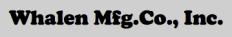 Whalen Mfg. Logo
