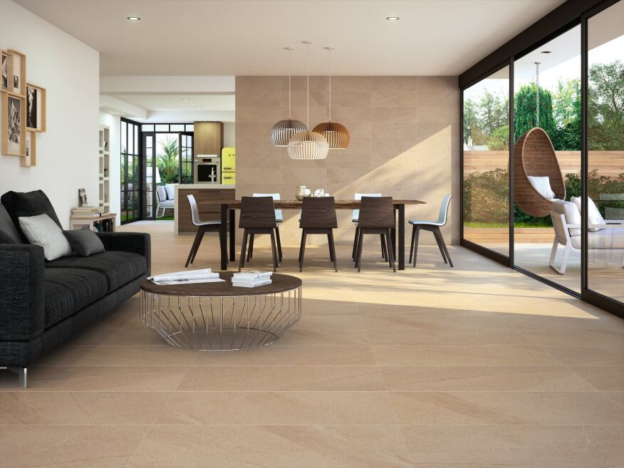 Ceracasa's Vulcano wall and floor tiles.
