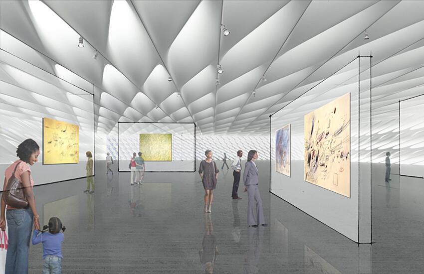 Gallery rendering.