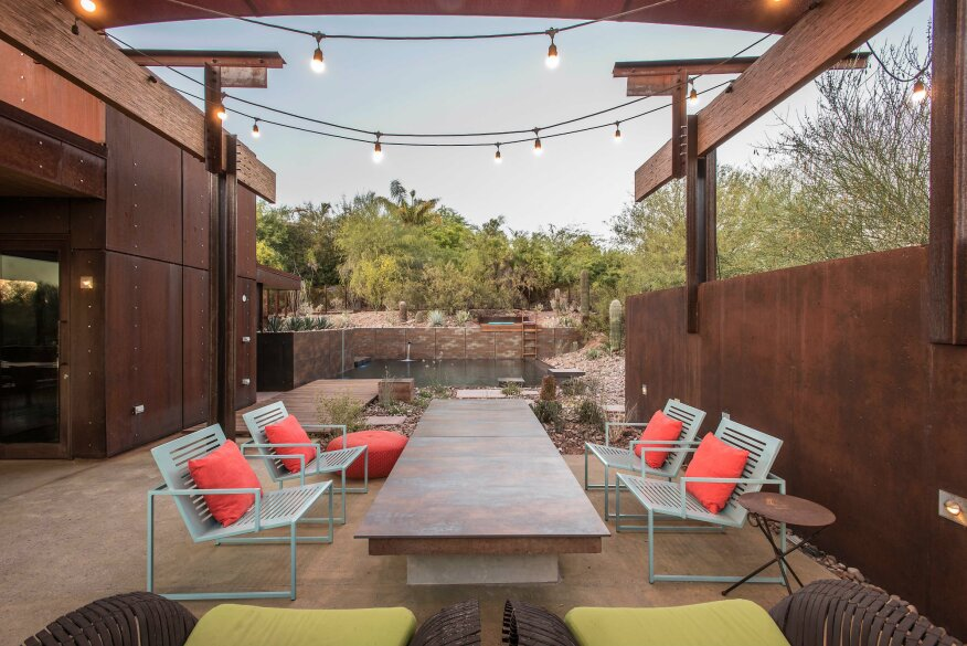 Sonoran Steel Hanley Wood Design Award Winners Pools