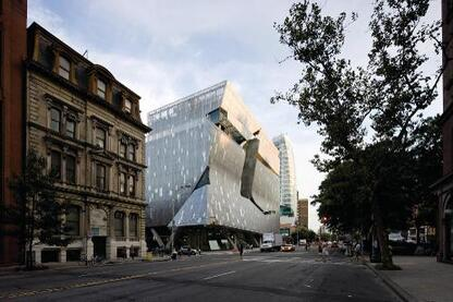 Culver City, Calif.–based Morphosis Architects designed this academic building for the Cooper Union for the Advancement of Science and Art.