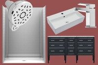 Mix & Match: The Geometric Bathroom