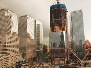 A decade after the Sept. 11 terrorist attacks, construction on the World Trade Center site in New York City is well under way — and the federal government is still focused on a coordinated response to future disasters. The National Preparedness System is the latest development in the long and bureaucratic process. Photo: Joe Nasvik