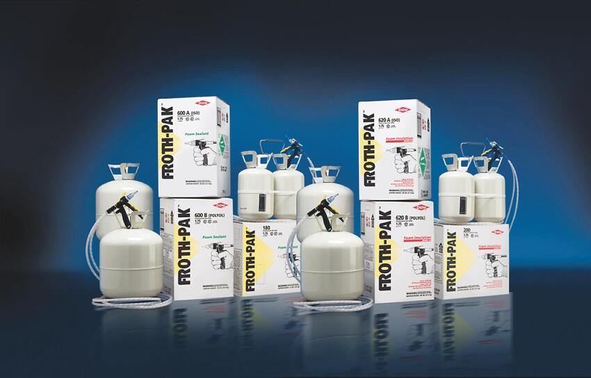 Dow Froth-Pak Foam Sealant