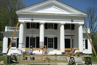 Greek Revival Column Repair