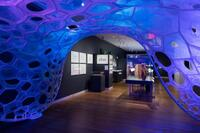 PolyThread Textile Pavilion: Illumination Through Absorption