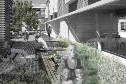 Community | City: Between Building and Landscape. Affordable Sustainable Infill for Smoketown; Louisville, Ky.