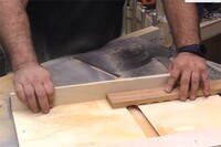 A Stupid-Simple Table Saw Sled
