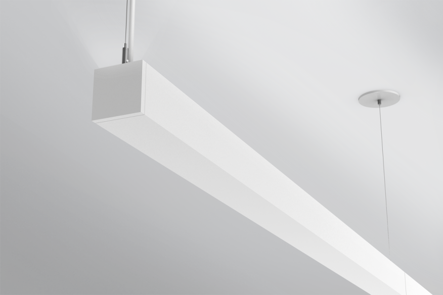 Four Discreet Direct Indirect Fixtures Architectural