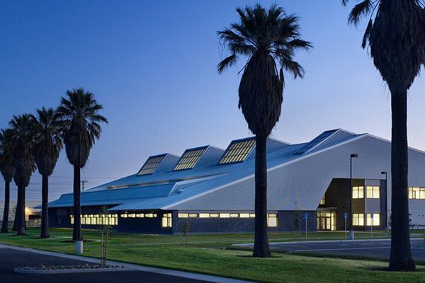 California Army National Guard Readiness Center in Sacramento, California by URS.