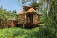 Honorable Mention: Blooming Bamboo House