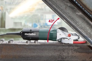 Metabo Introduces the Industry's First Flat Head Angle Grinders