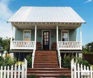 Designed as an alternative to FEMA trailers, the Katrina Cottage is currently used as affordable housing and vacation retreats.