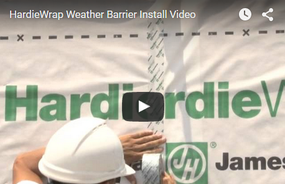 HardieWrap® Weather Barrier Introductory Installation Video