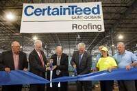 CertainTeed Roofing Opens New Manufacturing Facility in Missouri  to Produce Asphalt Shingles