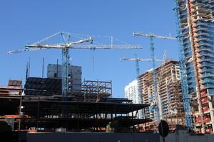 Maxim Crane employs 11 Terex tower cranes for city centre project