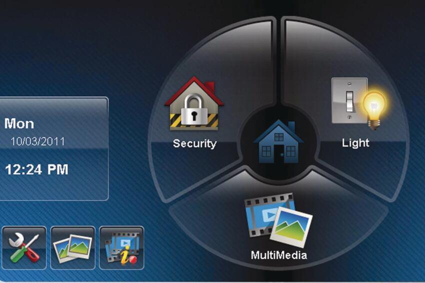 Honeywell 6280 Touchscreen Display