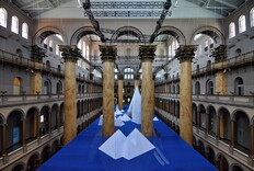 Faux Icy Underwater World Opens at National Building Museum