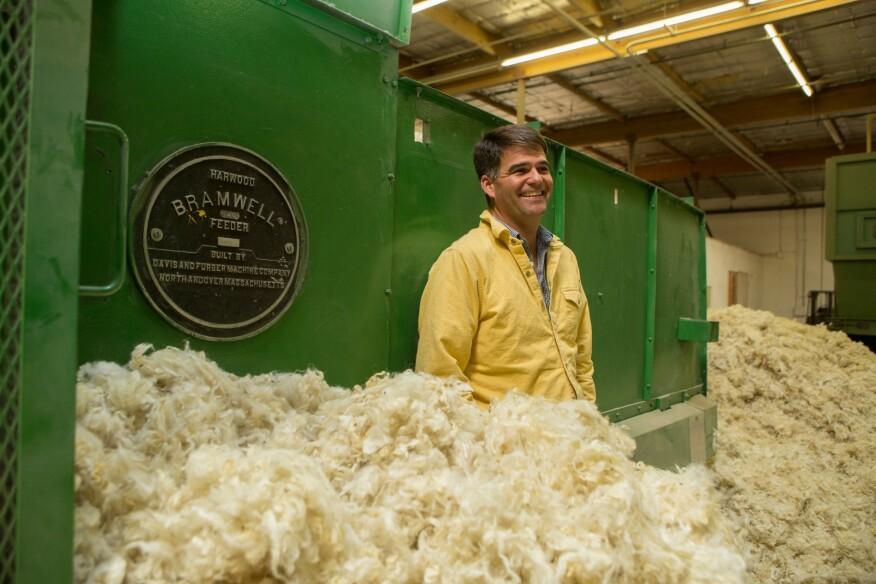 Andrew Legge, founder of Havelock Wool.