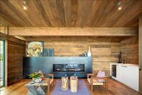 Open areas for hosting were created within the reorientation of the house, as well as providing views for the outdoors.