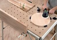 Festool Multifunction Tables make set up faster