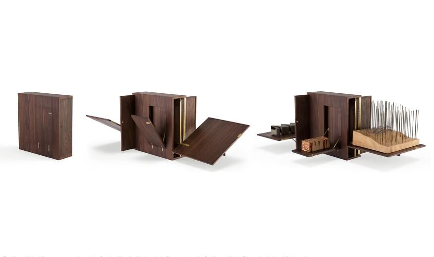 Toolbox with conceptual studies for the Musée national des beaux-arts du Québec