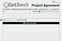 Get Dwell's Project Form Helps Ensure Clients Pay on Time