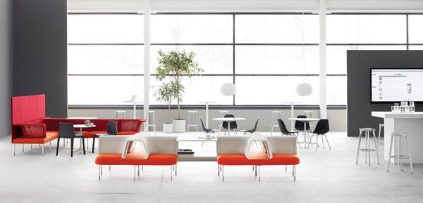 Historically a leader in the contract market, Herman Miller last week announced a bid to purchase Design Within Reach, a leading retailer of premium home furnishings. Herman Miller's Living Office (above) was showcased at this year's NeoCon.