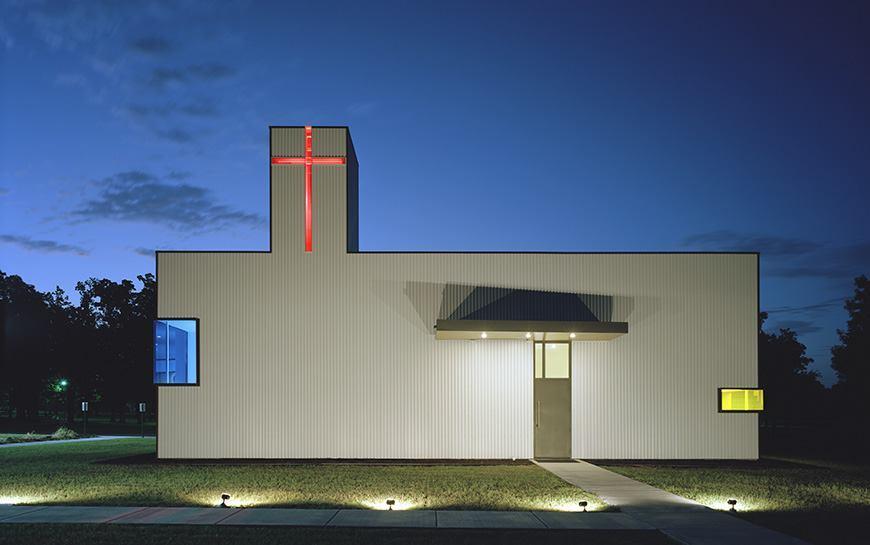 St. Nicholas Eastern Orthodox Church (Springdale, Ark.), by Marlon Blackwell Architects.