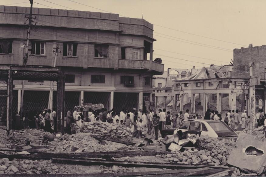 The demolition of Baghdad's Haifa Street in 1981