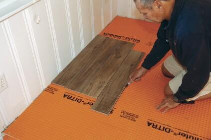 Working With Large Format Floor Tile Jlc Online Tile