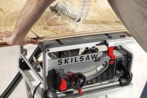 Skilsaw's Worm Drive Table Saw