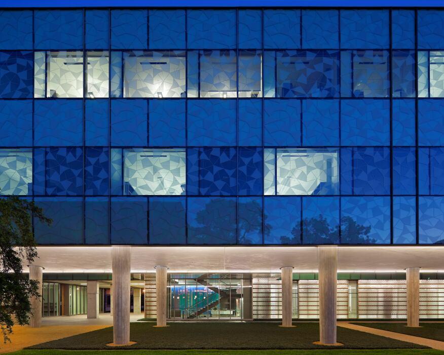 Brockman Hall for Physics, Rice University, Houston.