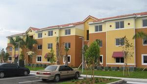 Once completed, Tallman Pines in Deerfield Beach, Fla., will be the Sunshine State's first LEED-Silver affordable housing development.