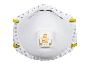 3M Tekk Protection Paint Sanding Valved Respirator