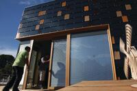 Team Germany Shines at the Solar Decathlon