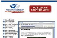 ACI Concrete Knowledge Center