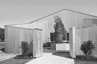 """Rice University Demolishing the 1969 """"Art Barn"""""""