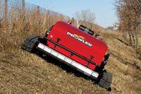 Remote-control mowing
