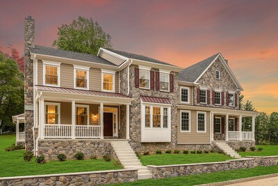Marshallton Walk, a new community of single-family and paired homes that mingle modern living with the timeless charm of Marshallton Village Historic District, is just outside of West Chester, PA.